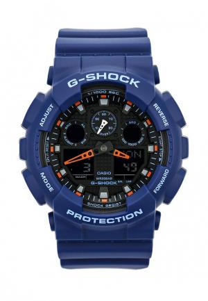 Часы Casio G-SHOCK GA-100L-2A. Цвет: синий
