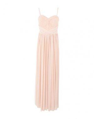 Длинное платье LIPSY. Цвет: светло-розовый