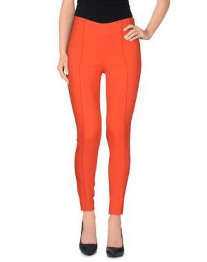 Повседневные брюки AQUILANO-RIMONDI. Цвет: красный