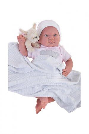 Кукла Реборн младенец Ника ANTONIO JUAN. Цвет: розовый