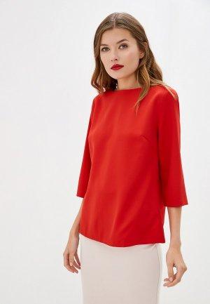 Блуза Maurini. Цвет: красный