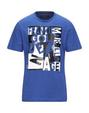 Футболка FRANKIE MORELLO. Цвет: ярко-синий