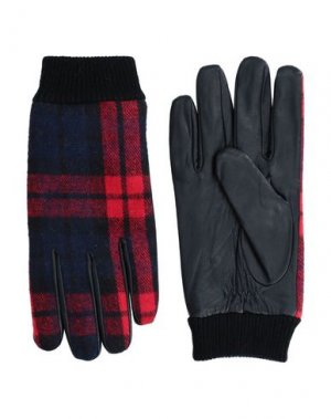 Перчатки ANERKJENDT. Цвет: красный