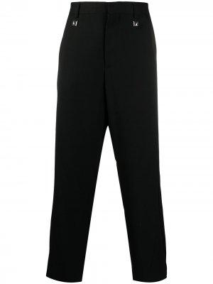 Прямые брюки Just Cavalli. Цвет: черный