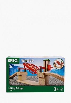Конструктор Brio Разводной мост, 3 элемента. Цвет: разноцветный