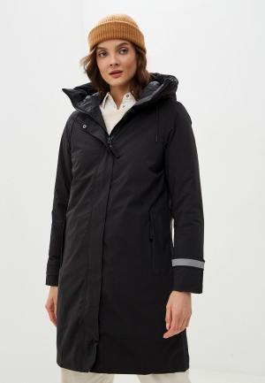 Куртка утепленная Helly Hansen W VICTORIA INS RAIN COAT. Цвет: черный