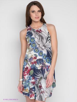 Платье DRS Deerose. Цвет: белый, темно-синий, бордовый, зеленый