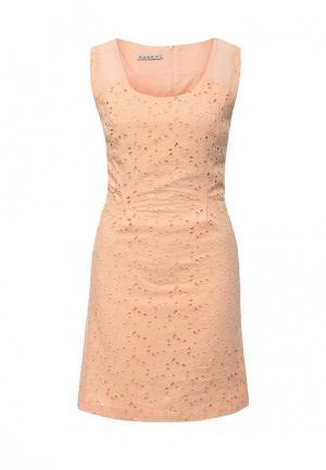 Платье Kookai. Цвет: оранжевый