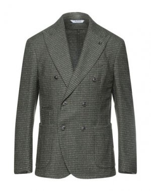 Пиджак BOTTEGA MARTINESE. Цвет: зеленый-милитари