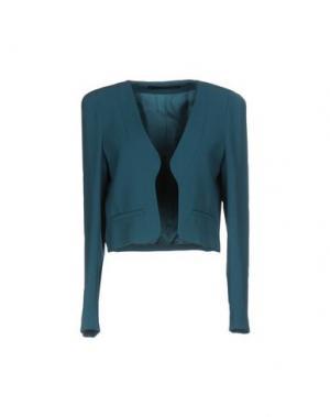 Пиджак ANNARITA N. Цвет: цвет морской волны