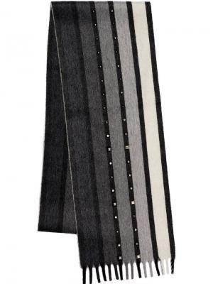 Кашемировый шарф Prada. Цвет: черный