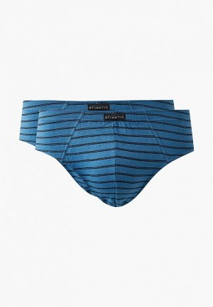 Комплект Atlantic New Stripes Classic. Цвет: синий