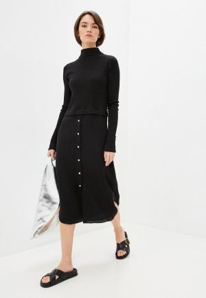 Платье Theory. Цвет: черный
