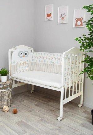Бортик для детской кровати Сонный Гномик Софушки. Цвет: разноцветный