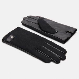 Перчатки, варежки, муфты Wool Back Glove With Snap Timberland. Цвет: черный