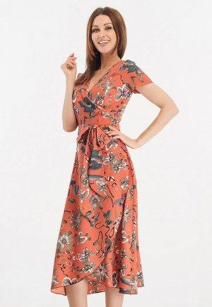 Платье Giulia Rossi. Цвет: коралловый