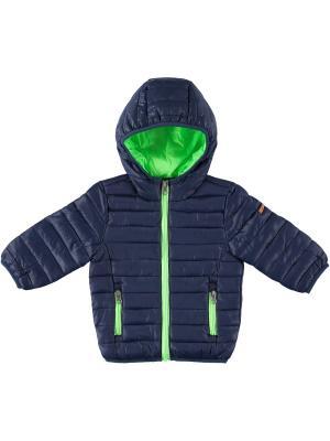 Куртка IDO. Цвет: темно-синий