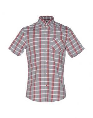 Pубашка 55DSL. Цвет: коричневый
