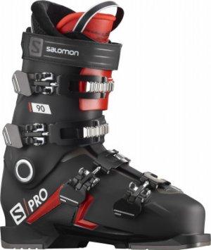 Ботинки горнолыжные S/PRO 90, размер 28 см Salomon. Цвет: черный