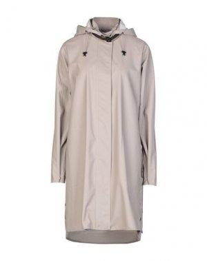 Легкое пальто ILSE JACOBSEN. Цвет: голубиный серый