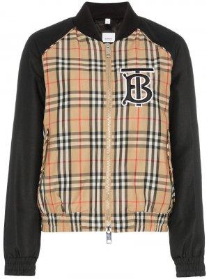Куртка-бомбер Harlington в клетку Vintage Check Burberry