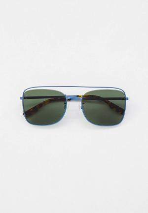 Очки солнцезащитные McQ Alexander McQueen MQ0310S. Цвет: синий