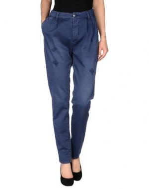 Повседневные брюки HOLLY GOLIGHTLY. Цвет: темно-синий