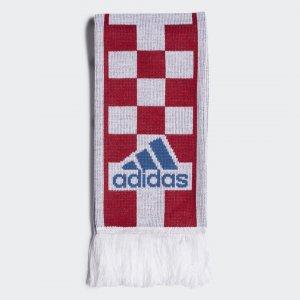 Шарф Хорватия Performance adidas. Цвет: красный