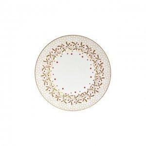 Тарелка обеденная Noel Blanc Bernardaud. Цвет: золотой