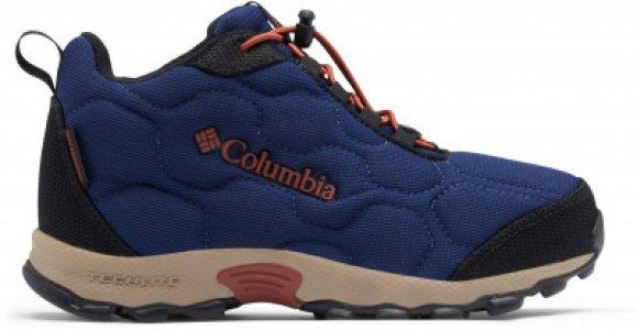 Ботинки для мальчиков Youth Firecamp™ Mid 2 WP, размер 31.5 Columbia. Цвет: синий