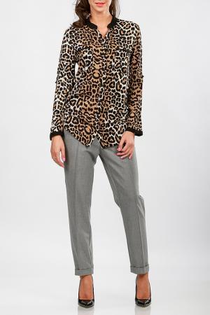 Рубашка Cocogio. Цвет: мультицвет