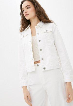 Куртка джинсовая Banana Republic. Цвет: белый