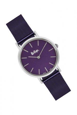 Наручные часы Lee cooper. Цвет: фиолетовый