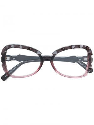 Очки Charivari Swarovski Eyewear. Цвет: розовый