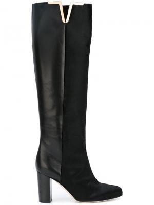 Высокие сапоги Brian Atwood. Цвет: чёрный