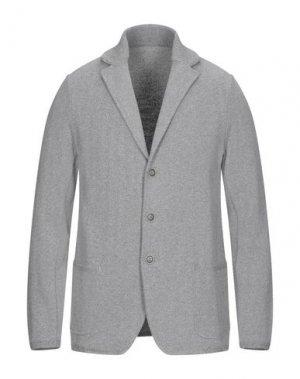 Пиджак GRAN SASSO. Цвет: серый