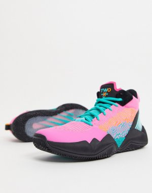 Розовые с черным баскетбольные кроссовки TWO WXY-Черный New Balance