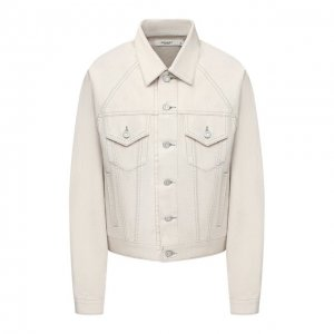 Джинсовая куртка Moussy. Цвет: белый