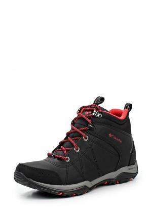 Ботинки трекинговые Columbia FIRE VENTURE™ MID WATERPROOF. Цвет: черный