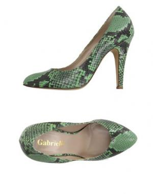 Туфли GABRIELLI. Цвет: зеленый