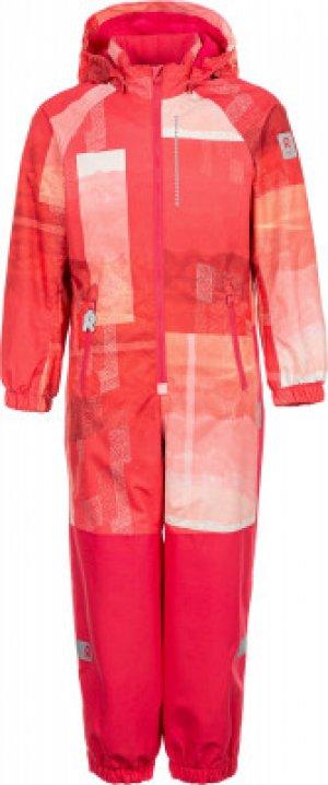 Комбинезон для девочек Kapelli, размер 122 Reima. Цвет: розовый