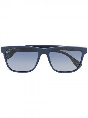 Футуристические солнцезащитные очки Converse. Цвет: синий