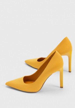 Туфли Bershka. Цвет: оранжевый