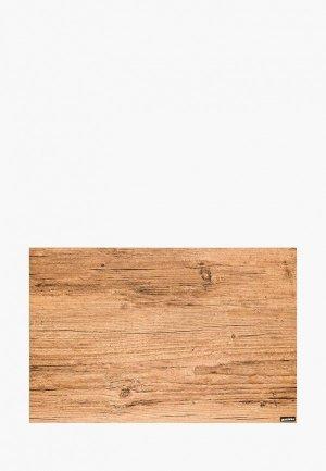 Салфетка сервировочная Guzzini Elm Shades. Цвет: коричневый
