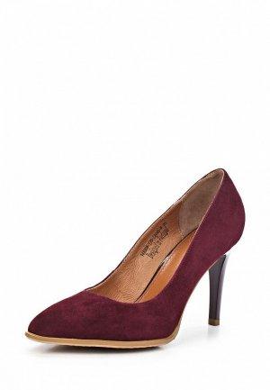Туфли Clotilde SI293AWCQJ99. Цвет: бордовый