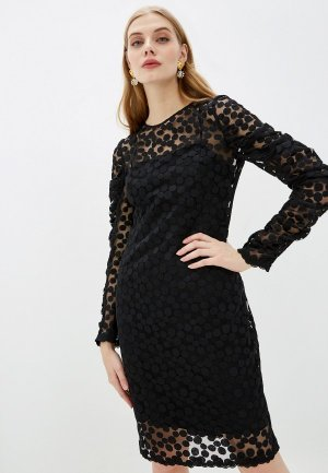 Платье Akris Punto. Цвет: черный