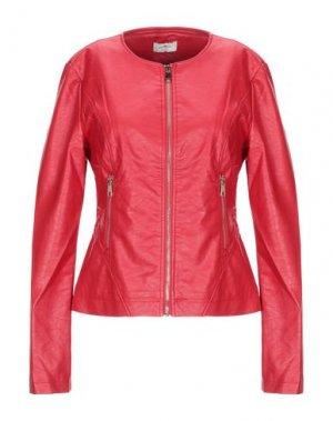 Куртка REBEL QUEEN by LIU •JO. Цвет: красный