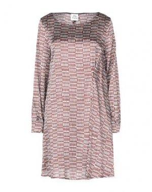 Короткое платье ATTIC AND BARN. Цвет: цвет морской волны