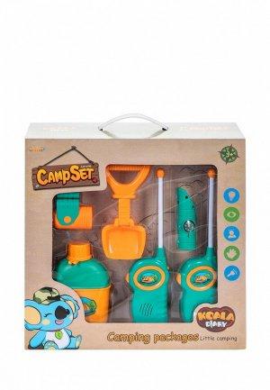 Набор игровой Givito для пикника детская игровая палатка Туриста 6 предметов. Цвет: разноцветный