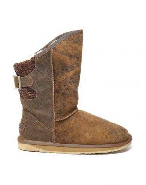 Полусапоги и высокие ботинки AUSTRALIA LUXE COLLECTIVE. Цвет: верблюжий